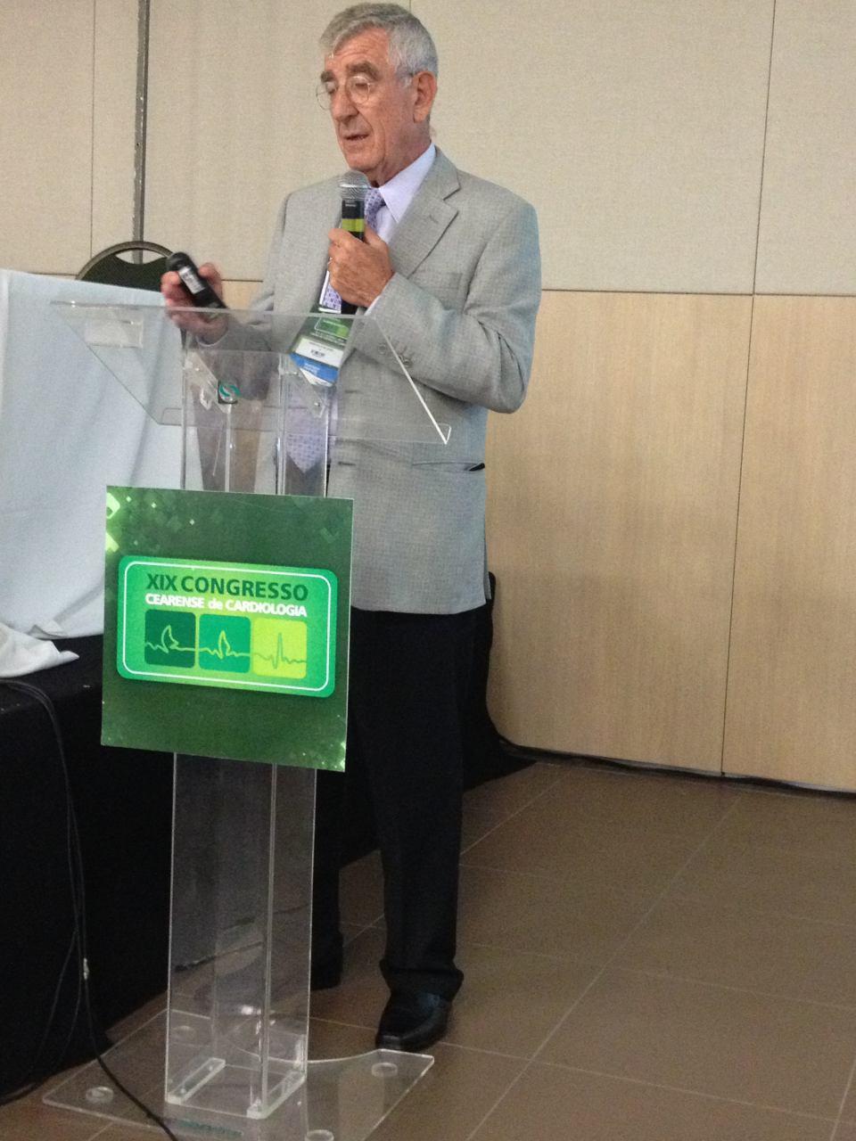 Marcelo Elizari en el XIX Congreso Cearense de Cardiología