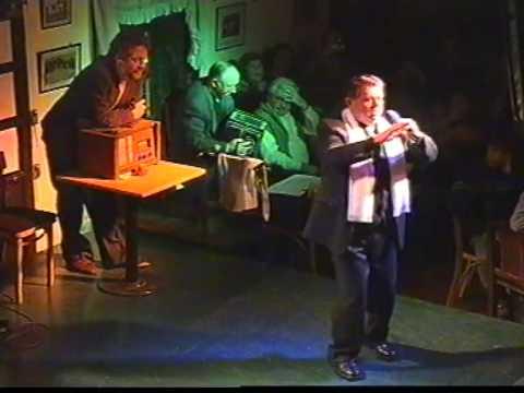 Homenaje al Dr. Sergio Kusznicki QEPD representando al personaje Nemesio Paredes