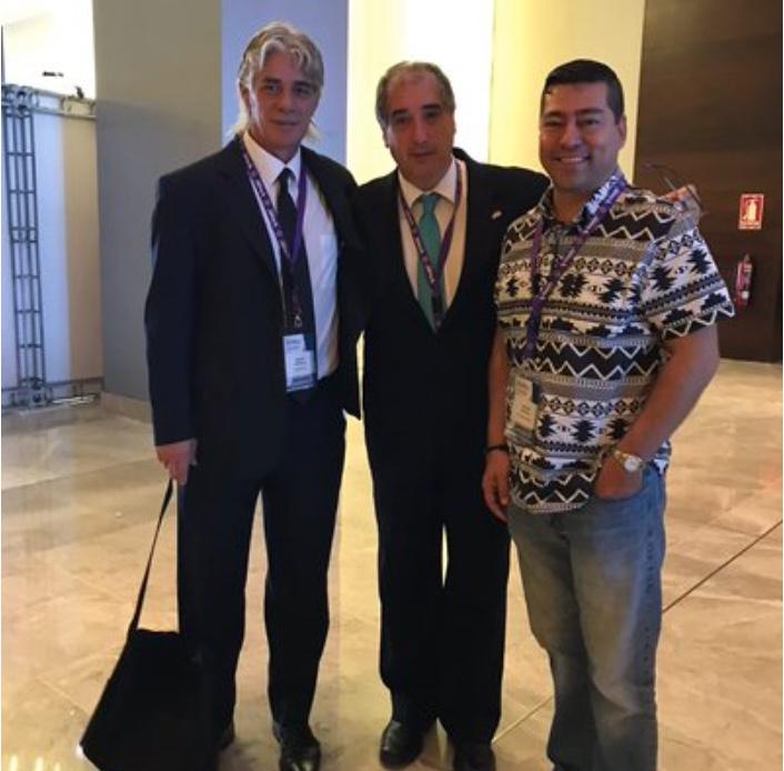 Martín Ibarrola, Adrián Baranchuk y Héctor Barajas Martínez en SIAC 2017, Panamá
